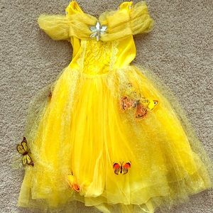 Other - Toddler Yellow Princess Dress Gown sz 2T/3T